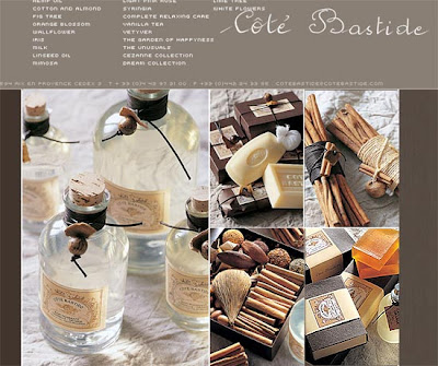 cote bastide - cynamon i pomarańcze