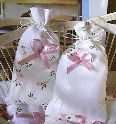 woreczki zapachowe - różane