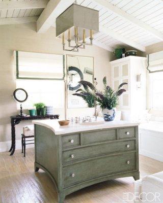 Glam Bathrooms from Elle Decor | House of Deva