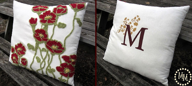 Pottery Barn Knock-Off Pillows {Guest Post From The Scrap