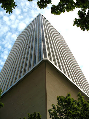 Rainier Tower from Below