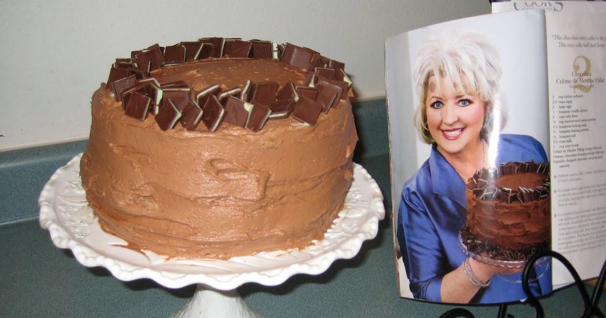 Chocolate Creme De Menthe Cake Recipe