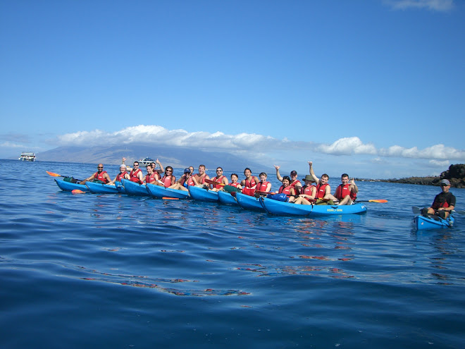Kayaking in Makena Landing