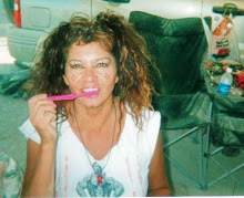 brushing teeth at burningman