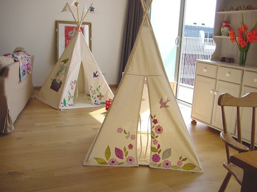 Petite Planet: Handmade Indoor Play TeePees For Kids