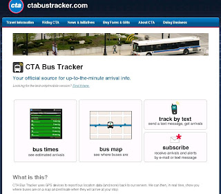 How To Use Chicago Cta Bus Tracker Online From
