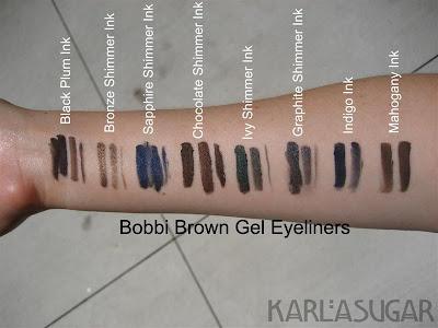 Bobbi Brown Gel Eyeliner Dark Chocolate Ink