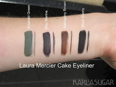 laura mercier cake and caviar eyeliners swatches photos reviews. Black Bedroom Furniture Sets. Home Design Ideas