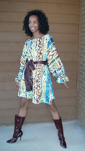 [Eclectic+Chic+Multi+Colored+Print+Dress]