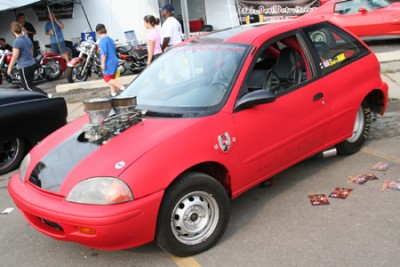 Subcompact Supercar Tubbed Out Geo Metro Is Probably Faster Than Your