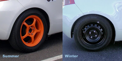 Summer vs. Winter Wheels - Subcompact Culture