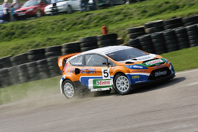 Fiesta Rally Car