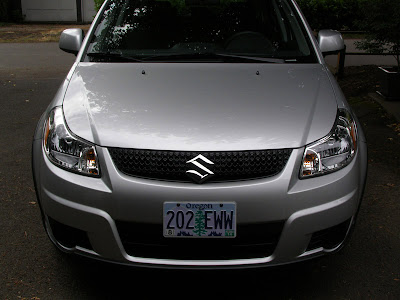 Suzuki SX4 with 3M protective film - Subcompact Culture