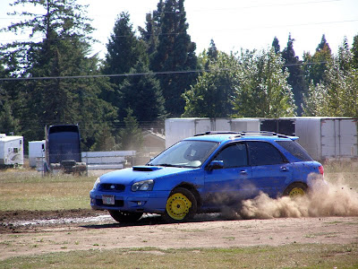 Subaru WRX rallycross car - Subcompact Culture