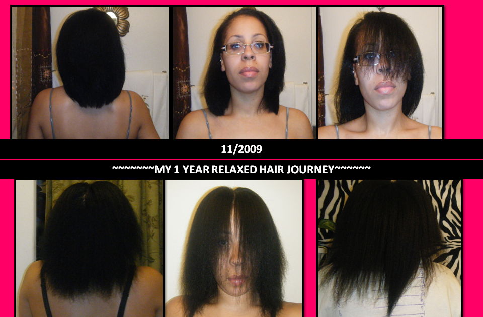 Lady D's Relaxed Healthy Hair Journey: MY 1 YEAR RELAX ...
