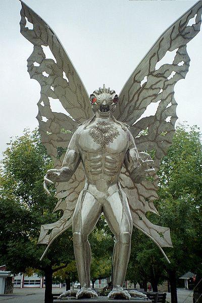 Legend of Mothman MYSTERY,RUMOR OR FACT WORLD