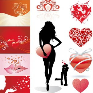 Vector Collections - Hearts 2008
