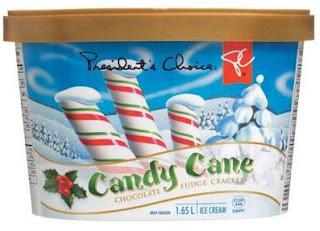 I Love PC Foods: Candy Cane Chocolate Fudge Crackle Ice Cream
