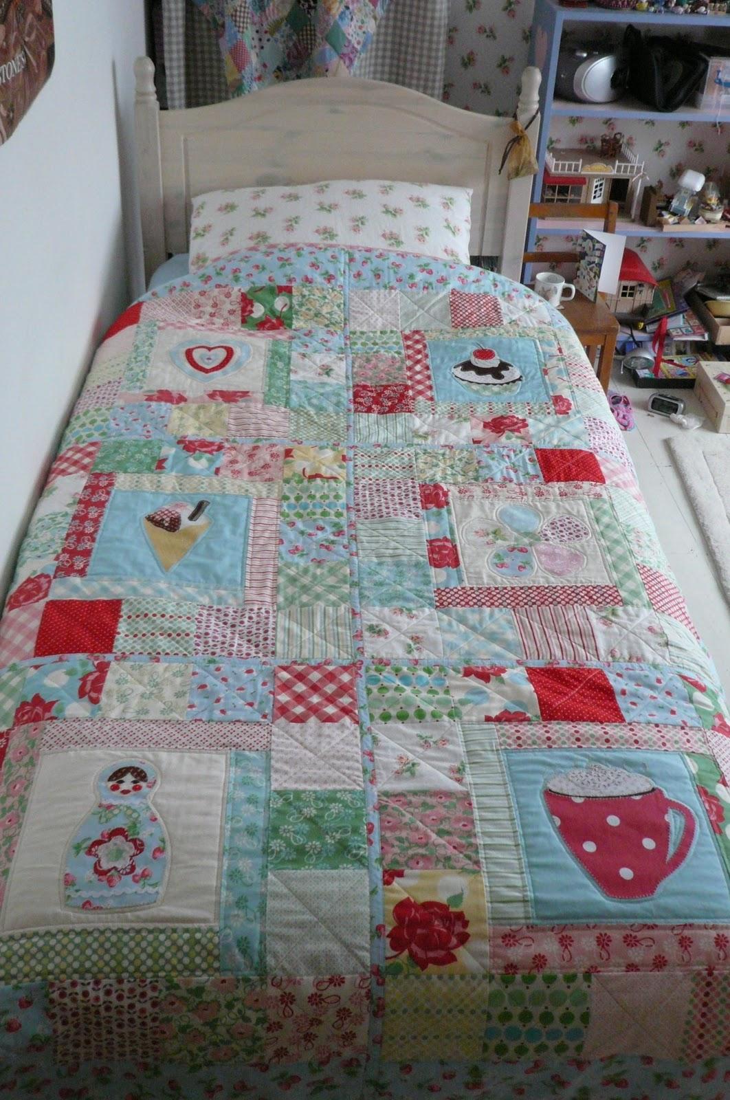 Quilt Story Absolutely a little girls quilt