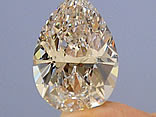 Diamante elaborado a partir de cinzas humanas.
