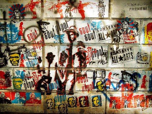 mural biblioteca nacional 2005
