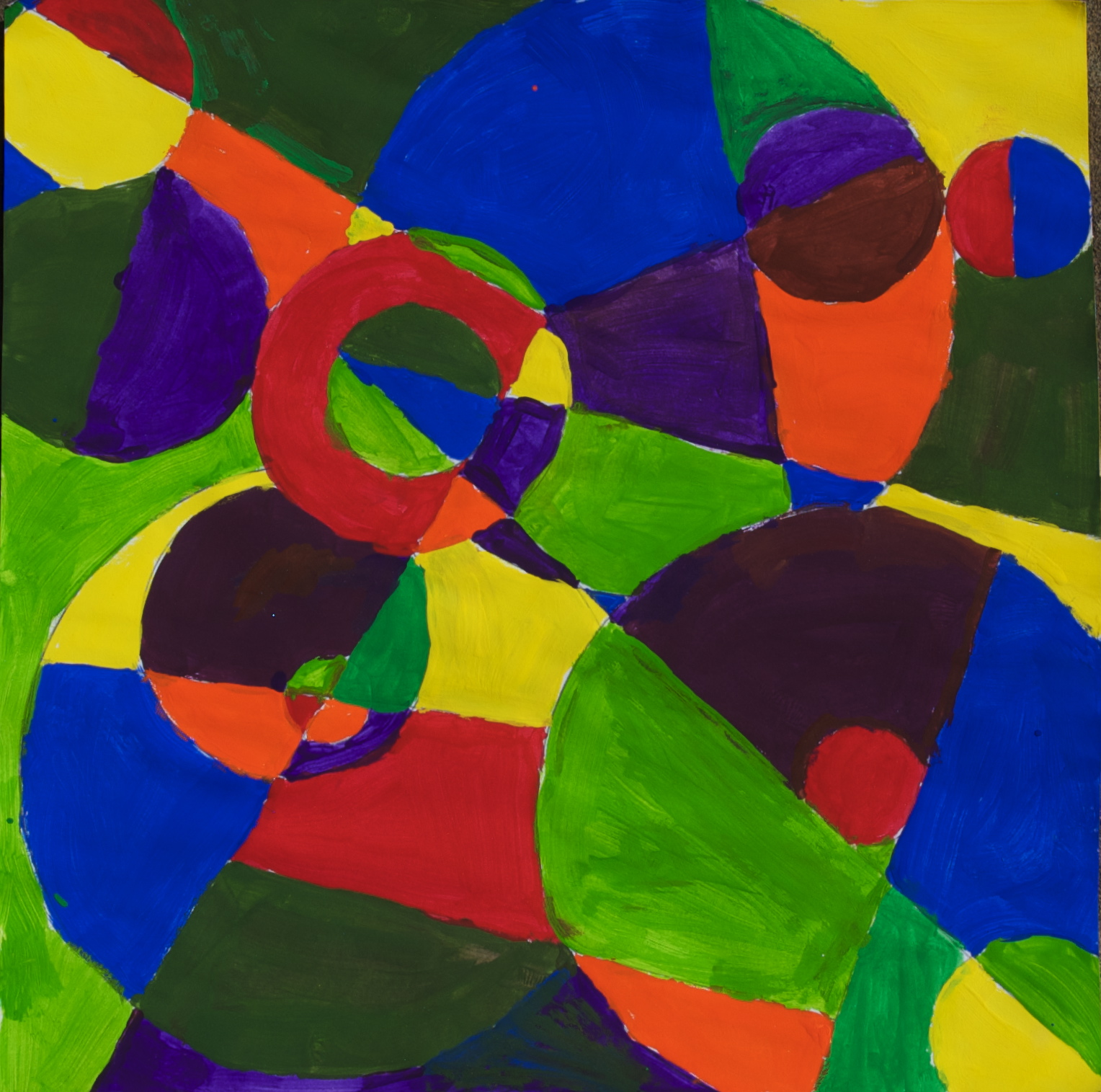 Afternoon Art Classes for Kids: Color Abstract