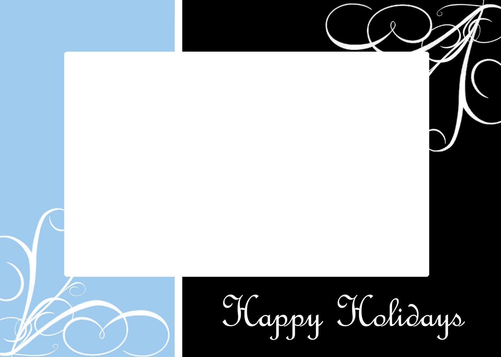 Christmas Card Layouts – Christmas Card Layout