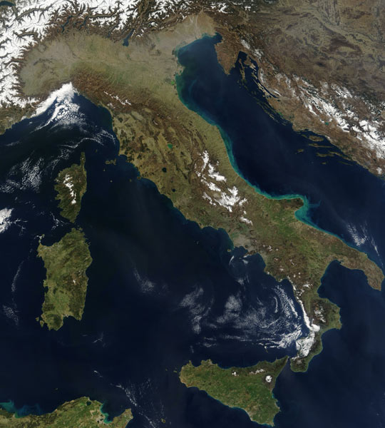 Cartina Satellitare Lombardia.Impariamo Insieme Cartine Geografiche Dell Italia