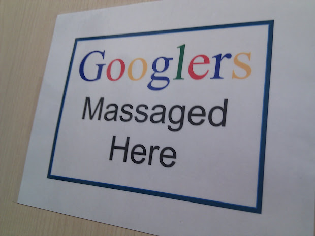 Therealmarvin Google Massage In Office Today. Bad U 't Deal