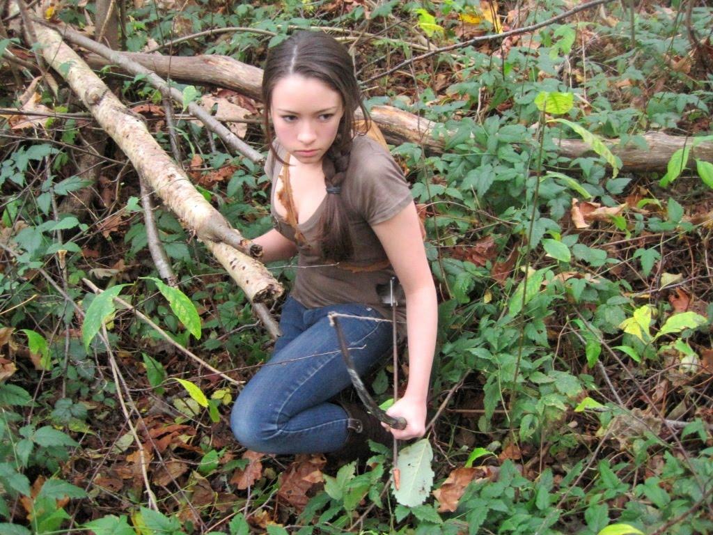 Jodelle as Katniss - The Hunger Games Photo (16660906