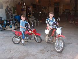 Boys on Motorbikes
