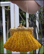 BEAD-KNITTED PURSE