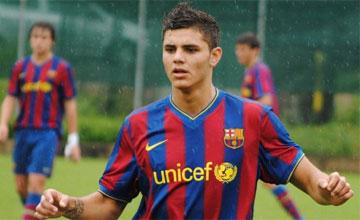Barça: Découvrez l'attaquant qui pourrait remplacer Luis Suarez (photo)