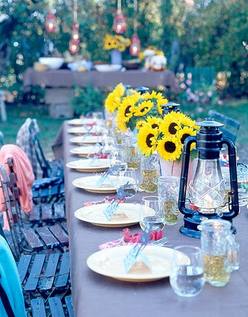 Lindaraxa pretty summer tables for Pretty html table