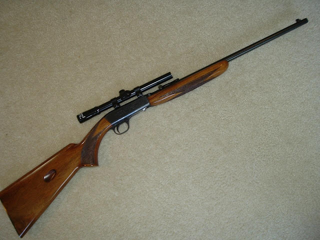 Browning Semi Auto 22 Takedown Rifle