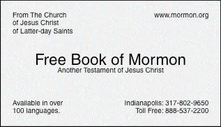 See Also My Second Version Of The Card A Bible And Book Mormon Sample Calling For Your Name Phone Number
