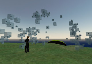 Swarm Architecture in Second Life, via Interactive Architectures