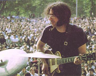 Jerry Garcia Central Park, NY - May 5, 1968