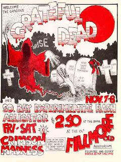Grateful Dead Nov 7-8 1969 poster