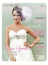 As seen in Eco Beautiful Weddings Magazine