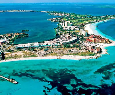 Palaya Del Carmen Mexico Beach