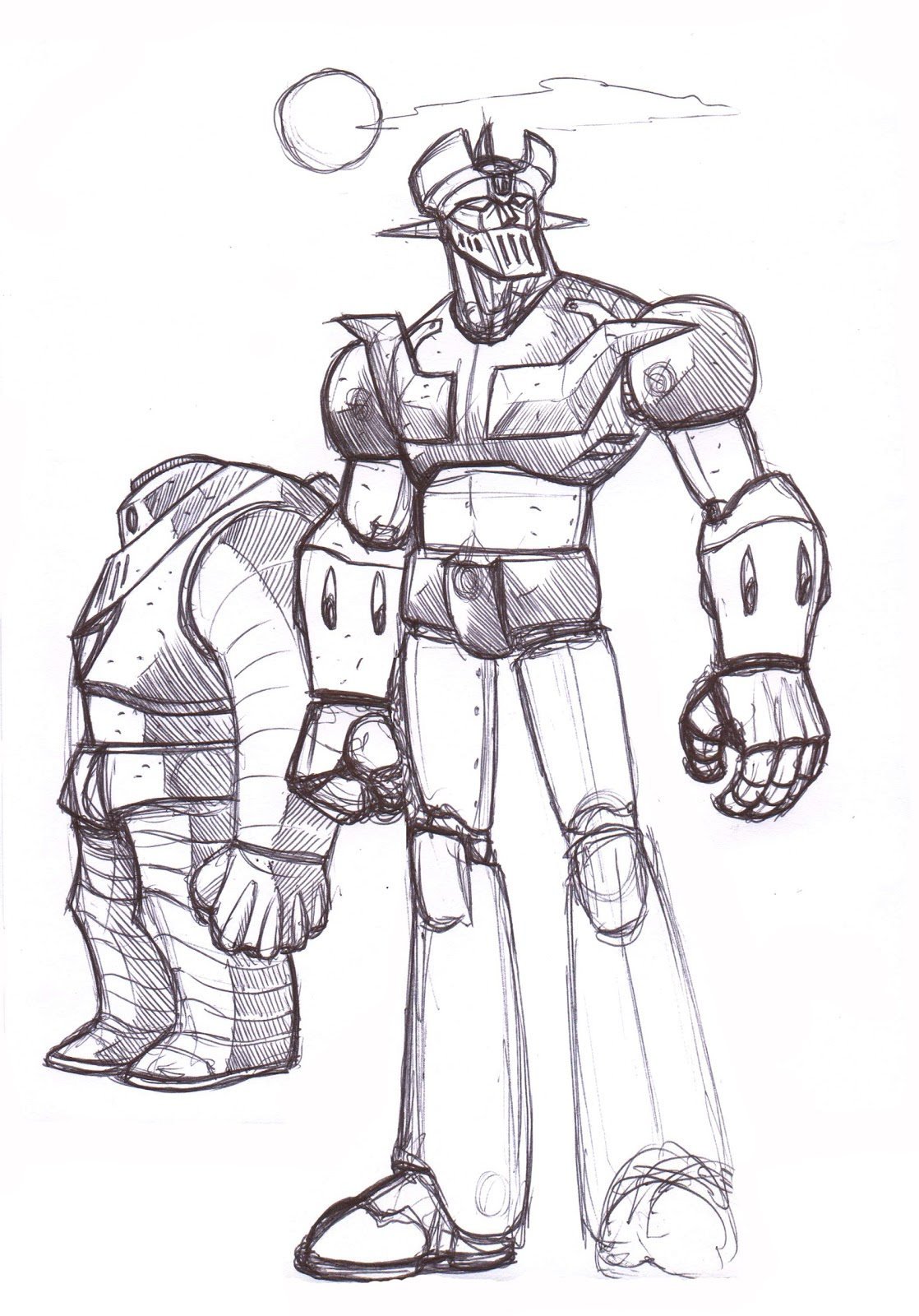 mazinger z coloring pages - photo#36