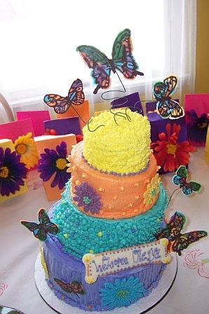 Butterflies & Daisies