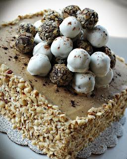 Chocolate Cappuccino Truffle Cake
