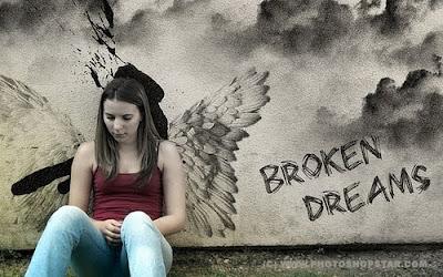 """Коллаж """"Разбитые мечты"""""""