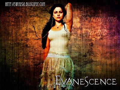 Создание гранджевого постера Evanescence