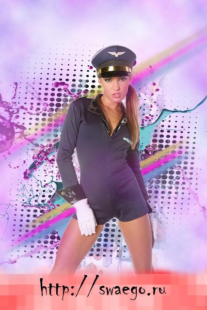 Стильный постер с девушкой в Photoshop CS5