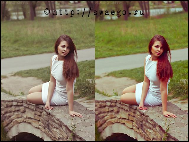 Как добавить фотографии реалистично-насыщенный цвет в Photoshop CS5.