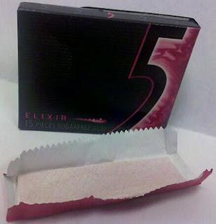 Gum Alert - A gum blog with gum reviews: Wrigley's 5 Elixir