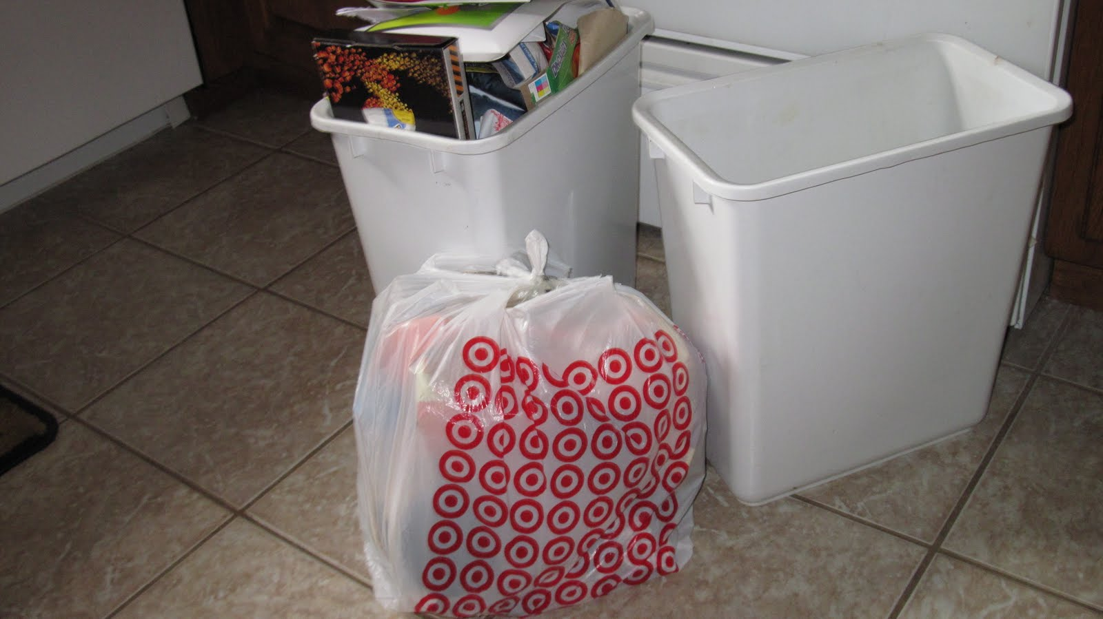 Kitchen Trash Bin Target: Simple Green $avings: Being Green With Plastic Bags